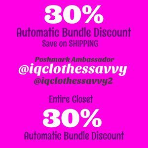 30% Automatic Discount on ALL BUNDLES!